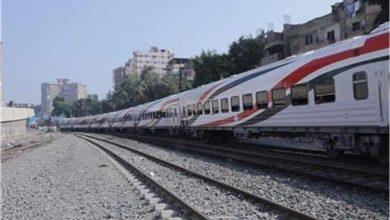 صورة حركة القطارات| 70 دقيقة التأخيرات بين قليوب والزقازيق والمنصورة