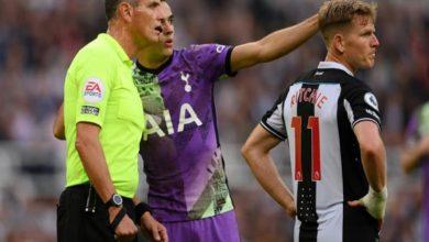 """صورة """"لا يهمني الفوز"""".. صحف إنجلترا تستعرض رد فعل ريجيلون بعد إصابة مشجع نيوكاسل"""