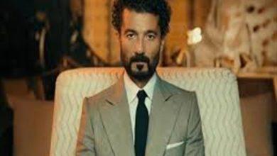 """صورة خالد النبوي ينشر صورا من العرض الأول لفيلم """"قمر 14"""""""