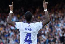 صورة بالفيديو.. ألابا يسجل أول أهدافه بقميص ريال مدريد