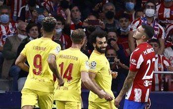 صورة #محمد_صلاح يقود #ليفربول لفوز مثير على #أتلتيكو_مدريد