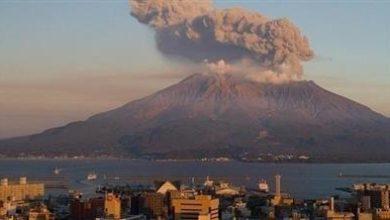 صورة تحذيرات في اليابان مع ثوران بركان جبل أسو