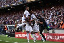 صورة ريال مدريد يحسم الكلاسيكو بالفوز على غريمه برشلونة في عقر داره (فيديو)