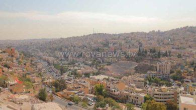 صورة استمرار سيطرة الكتلة الهوائية الخريفية على أجواء الأردن الأربعاء